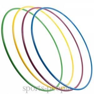 Обруч пластмассовый, диаметр 65 см, разн. цвета