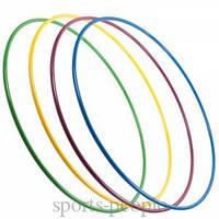 Обруч пластмассовый, диаметр 65 см, разн. цвета, фото 1