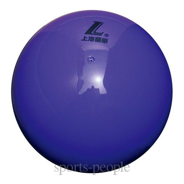 Мяч гимнастический Lanhua, лакированный, d=18 см, разн. цвета.