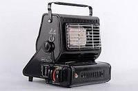 Газовый обогреватель плита с керамической горелкой Happy Home 156-А с адаптером для бытового баллона