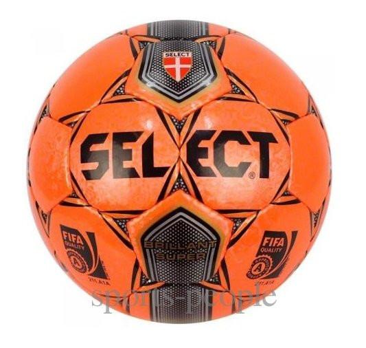 Мяч футзальный Select Brillant Super FIFA №4, (для мини-футбола).
