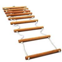 Веревочная лестница, деревянная (дуб), 1,45м