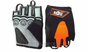 Перчатки для фитнеса, велосипеда, тяжелой атлетики, Selex Spyder, кожа, размеры: S, M, L, XL, разн. цвета.
