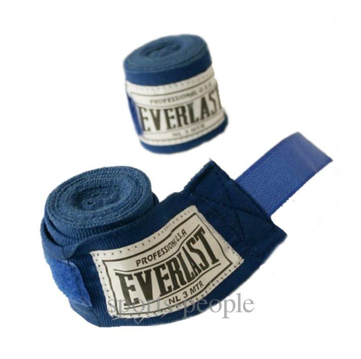 Бинты боксерские Everlast, 3м, разн. цвета