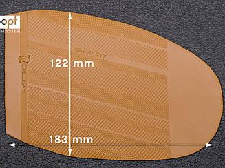 Подметка резиновая XA002 CITY MICHELIN (Франция), р.45-47, цв. тропик (caramel)