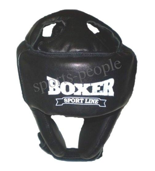 Шолом для карате/боксу BOXER, вініл, різном. кольори, L