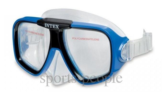 Маска для плавания Intex 55974, разн. цвета.