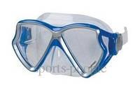 Маска для плавания Intex 55980, двухлинзовая, закаленное стекло,  разн. цвета., фото 1