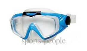 Маска для плавания Intex 55981, закаленное стекло, разн. цвета.