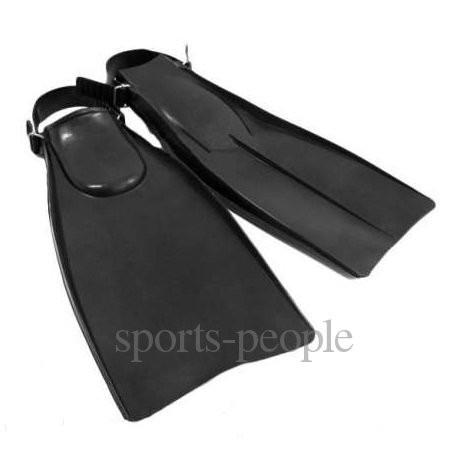 Ласты Моряк, резиновые, размеры: 37-40, черные.