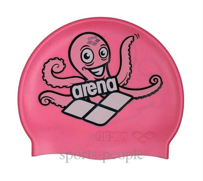 Шапочка для плавания ARENA Multi Jr детская, силикон, разн. цвета