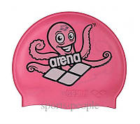 Шапочка для плавания ARENA Multi Jr детская, силикон, разн. цвета, фото 1