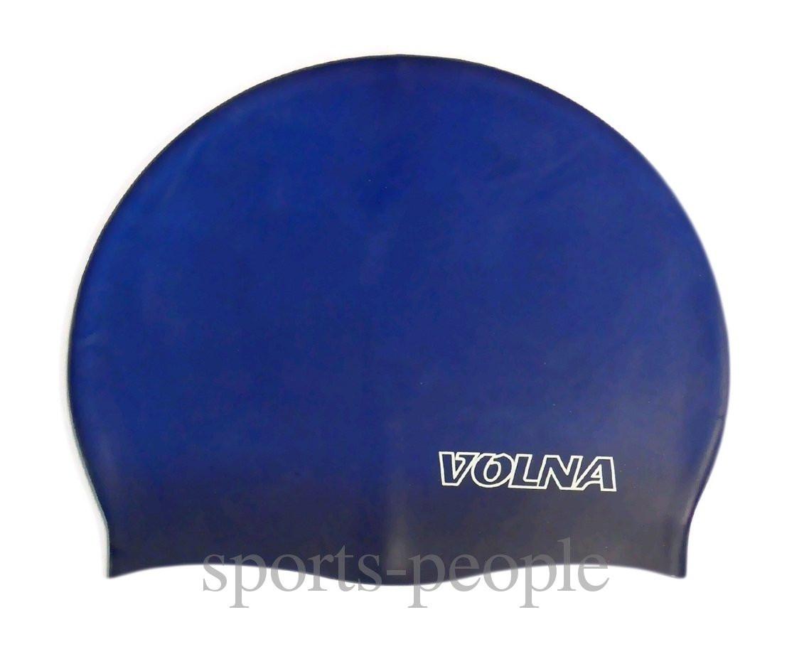 Шапочка для плавания Volna Classic, силикон, разн. цвета