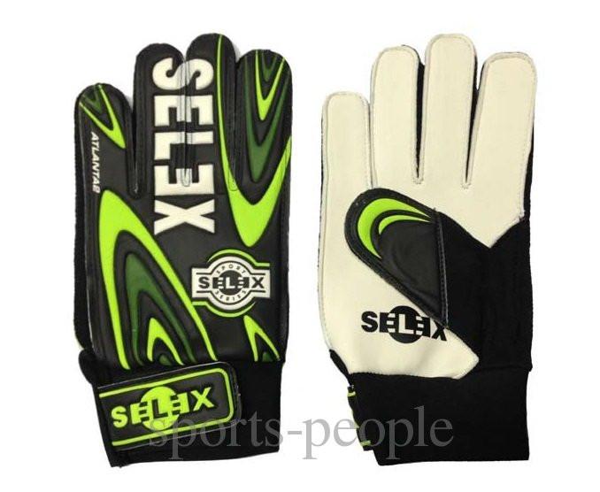 Перчатки вратарские Selex Atlanta, размеры: XS, S, М, L, XL
