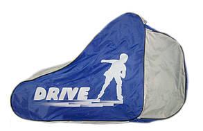 Сумка для роликовых/роликов и ледовых коньков Drive, разн. цвета
