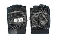 Перчатки спортивные б/п Sport Paris, кожзам, размеры: М, L, ХL, фото 1