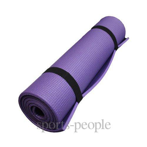 Коврик (каремат) для туризма и фитнеса, однослойный, 8 мм, разн. цвета