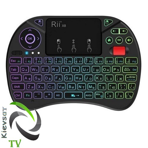 Беспроводная клавиатура Rii mini i8x