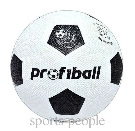 Мяч футбольный ProfiBall №5, зернистая резина