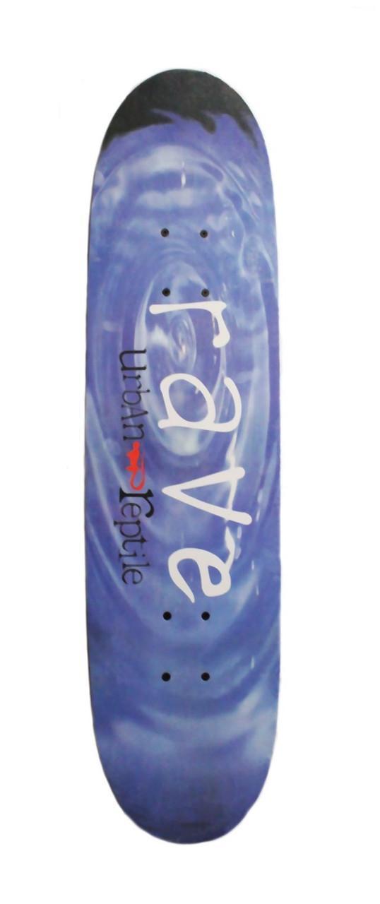 Скейтборд/скейт Lucky Boys, 4 вида графити