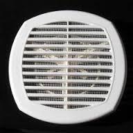 Универсальная вентиляционная решетка на воздуховоды 170*170 с жалюзями