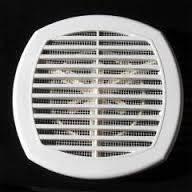 Универсальная вентиляционная решетка на воздуховоды 170*170 с жалюзями, фото 1