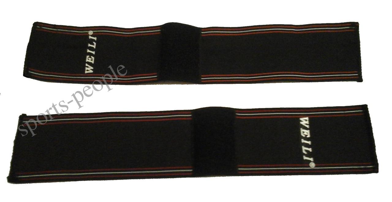 Суппорт для кисти рук (напульсник), универсальный размер, 37*7 см, 2 ед.