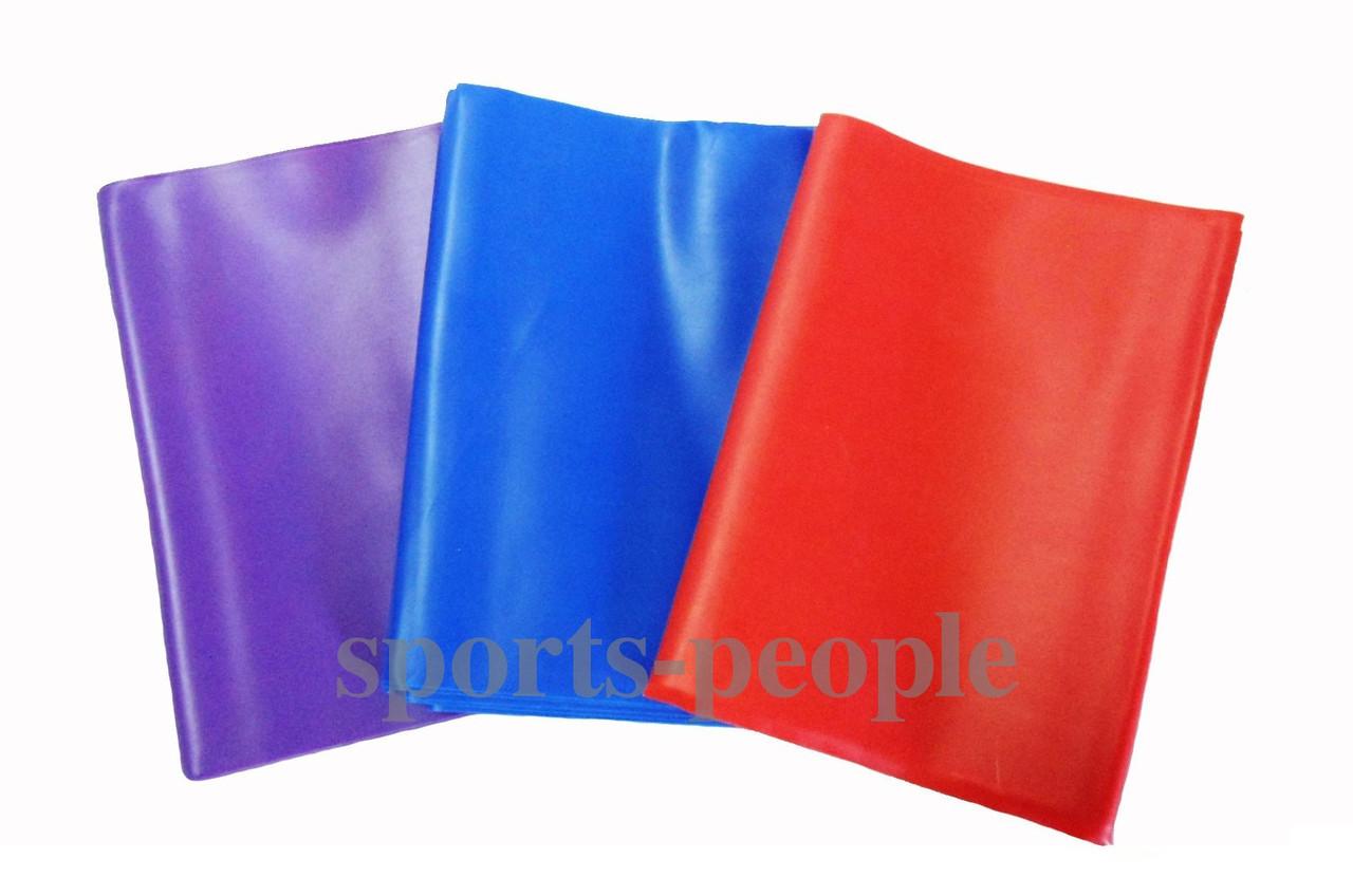 Эспандер-лента, сильной жесткости, 2м, разн. цвета.