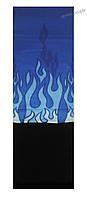 Бафф (Buff)/бандана, с флисом, языки пламени (синий фон)., фото 1