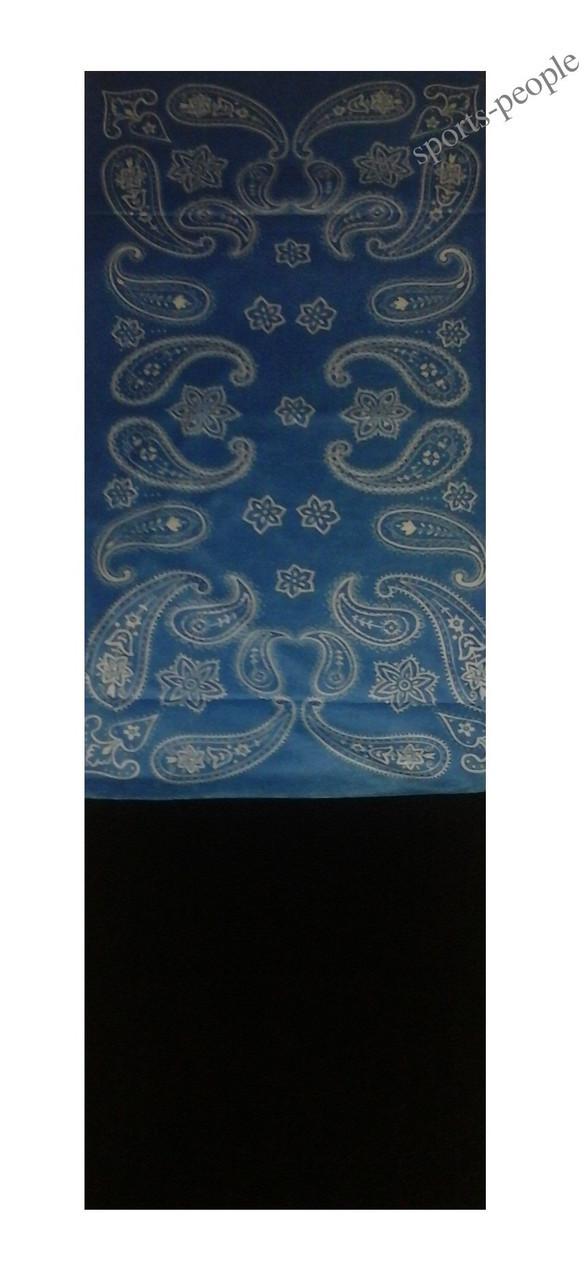 Бафф (Buff)/бандана, с флисом, абстракция (голубой фон).