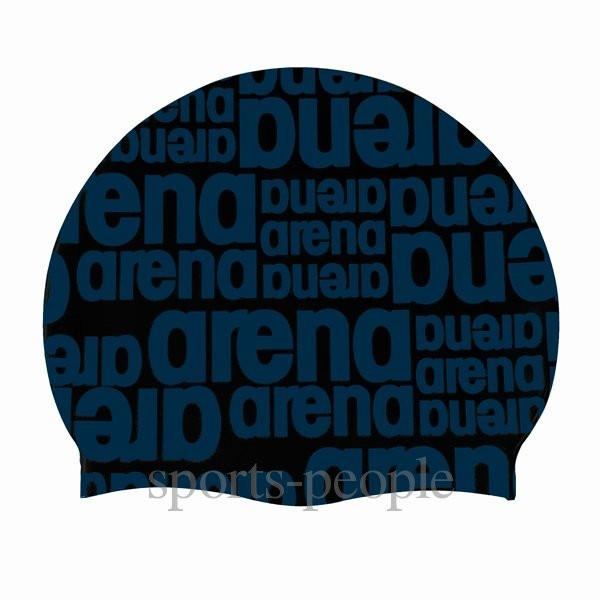Шапочка для плавания Arena Graphic Cap, силикон, разн. цвета