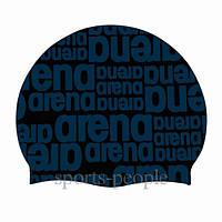 Шапочка для плавания Arena Graphic Cap, силикон, разн. цвета, фото 1
