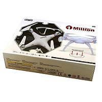Квадрокоптер-дрон 1 000 000 Million D1001
