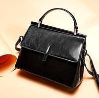 Женская сумка из натуральной кожи КейсиБлек, фото 1