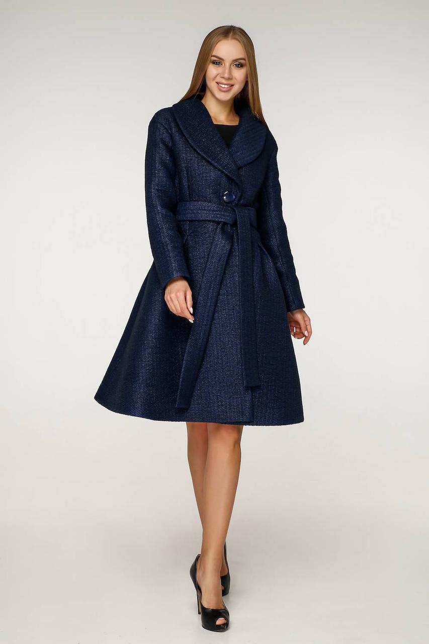 Женское демисезонное пальто В-1200 PE 14676, 44 - 50 р