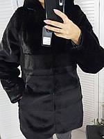 Женская шуба премиум мех норка большие размеры 50-56, фото 1