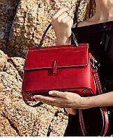 Женская сумка из натуральной кожи КейсиРед, фото 1