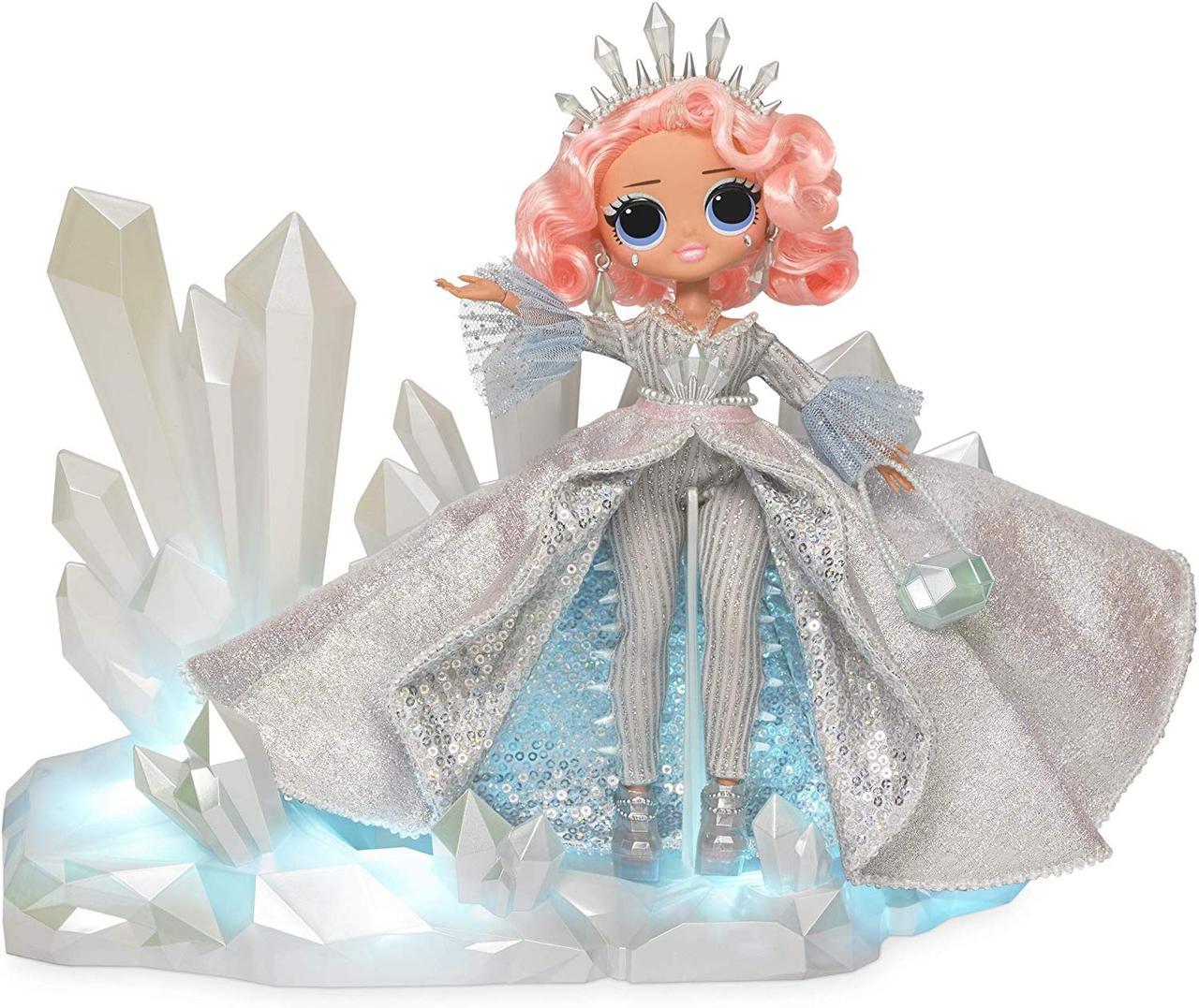 Коллекционная кукла ЛОЛ ОМГ Зимнее диско Хрустальная звезда L.O.L. Surprise! O.M.G. Crystal Star