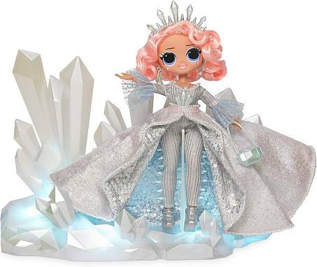 Коллекционная кукла ЛОЛ ОМГ Зимнее диско Хрустальная звезда L.O.L. Surprise! O.M.G. Crystal Star, фото 2