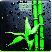 Весы напольные SCARLETT SC-BS33E051 бамбук