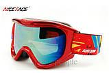 Маска горнолыжная NICE FACE 9054, красный цвет., фото 2