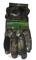 Перчатки горнолыжные Puissant, мужские, L, камуфляжный цвет.