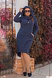 Платье / ангора меланж / Украина 15-589-1, фото 6