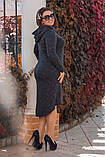Платье / ангора меланж / Украина 15-589-1, фото 7