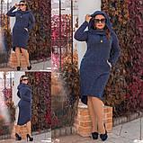 Платье / ангора меланж / Украина 15-589-1, фото 3