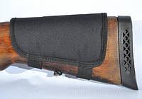 Патронташ на приклад на 10 патронов (7,62 нарезные) синтетический черный, фото 1