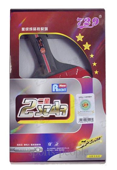 Набір для настільного тенісу/пінг-понгу 729 Friendship 2 star: ракетка+чохол