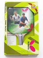 Набор для настольного тенниса/пинг-понга ракетка Butterfly TBC 301: ракетка+чехол, фото 1
