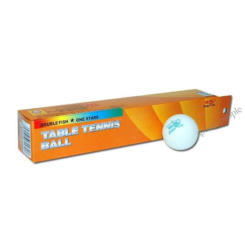 Мячи для настольного тенниса Double Fish 1*, 40 mm, (6 шт.)