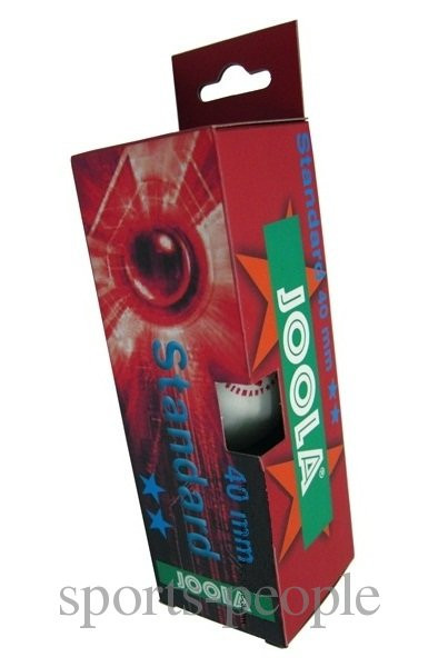 Мячи для настольного тенниса Joola Standard 2*, 40 mm, (3 шт.)